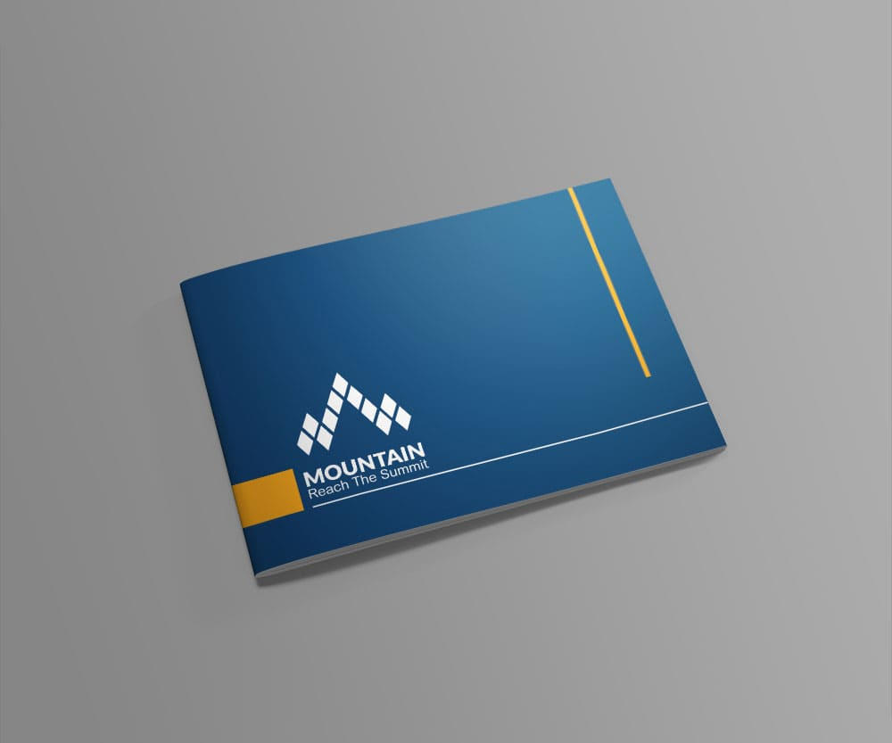 Mountain Catalog provided by Outflow designs agency