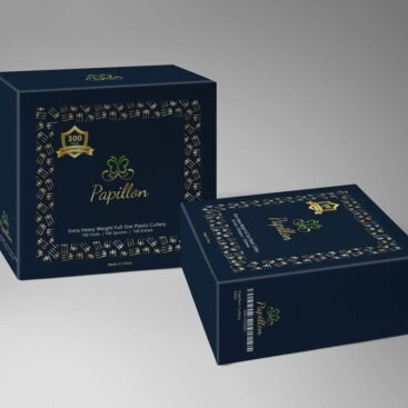 Papillon Packaging provided by Outflow designs agency