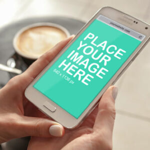 Smart Phone in Hand design is provided free of charge by Outflow Designs