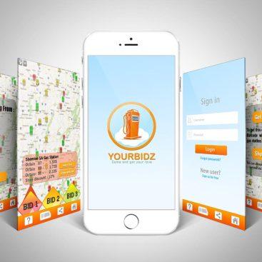 يساعد تصميم تطبيق يوربيدز فى التعرف على جمع المعلومات والخدمات المقدمة من الشركة لتسهيل التعرف عليها والوصول إليها.