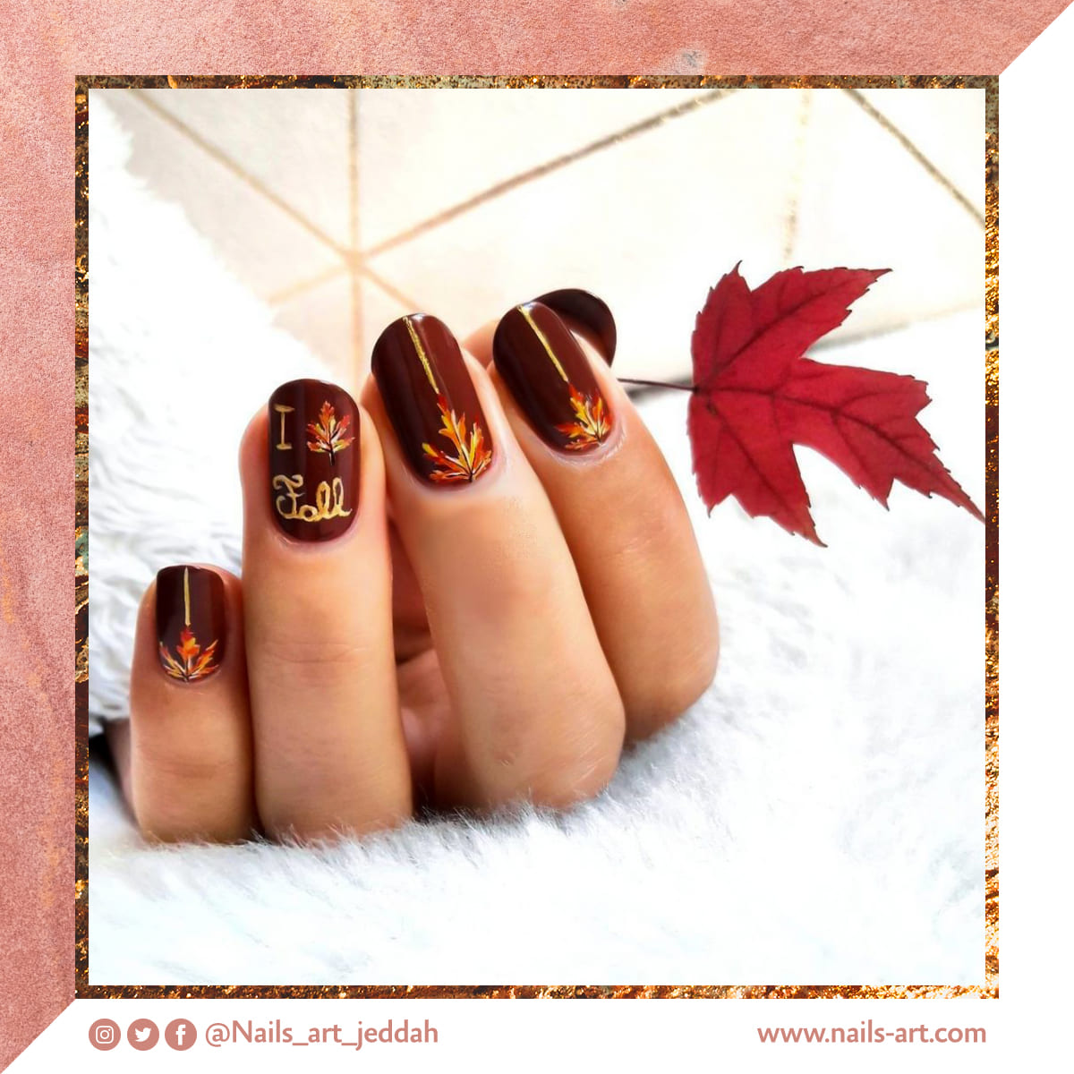 Audiences can take advantage of nail tips through designs provided by nail centers on social media