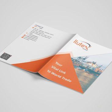 يساعد تصميم ملف شركة إيلوتكس فى التعرف على جمع المعلومات والخدمات المقدمة من الشركة لتسهيل التعرف عليها والوصول إليها.