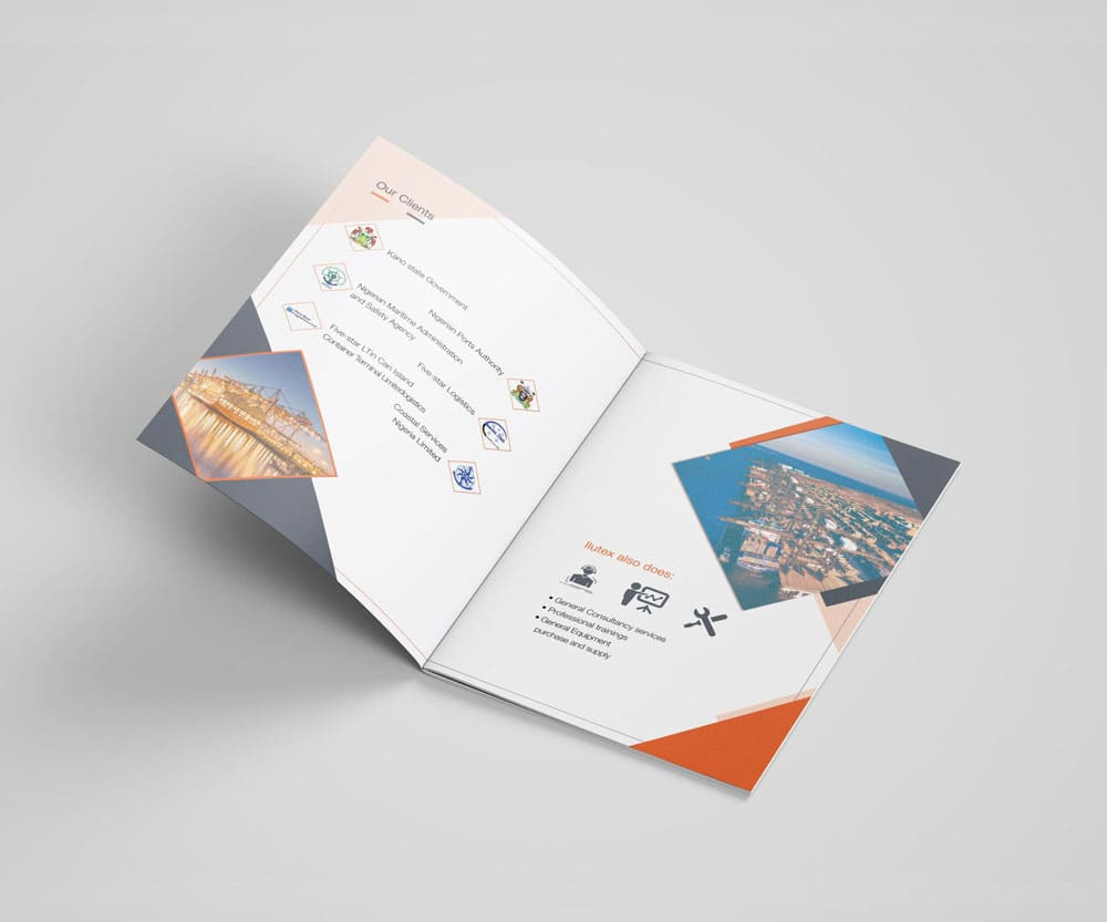 Company profile printing helps customers know more about your products