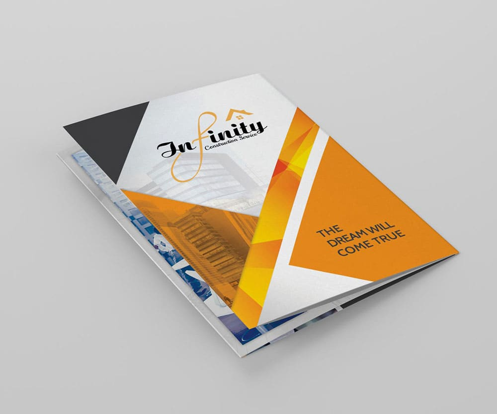 Designing and printing a corporate file helps customers know your products