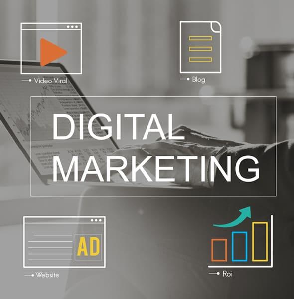 يقدم التسويق الرقمي للشركات والمؤسسات جميع الخدمات التى تهدف إلى الوصول للعملاء وزيادة المبيعات